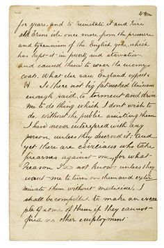 Ned Kelly wrote the Jerilderie letter, providing his own account of events.  Refer http://www.nma.gov.au/collections/collection_interactives/jerilderie_letter/page_1