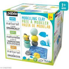 Compra nuestros productos a precios mini Cajita impresiones pasta para modelar - Litoral - 4 tarros de 100 g - Entrega rápida, gratuita a partir de 89 € !