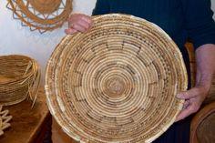 An handmade basket, Urzulei, Ogliastra