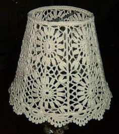 Crochet lampshade from China Arts, Crafts & Gifts Supplier China plaited products co.,ltd, Crochet lampshade supplier Lampe Crochet, Crochet Lampshade, Crochet Curtains, Crochet Eyes, Thread Crochet, Knit Crochet, Crochet Decoration, Crochet Home Decor, Wire Crafts