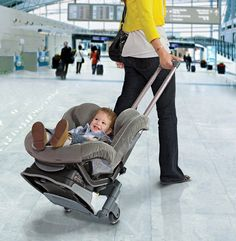 Transport Your Child Like He  s A Piece Of Carry On....oh how wonderfully easy traveling would be!