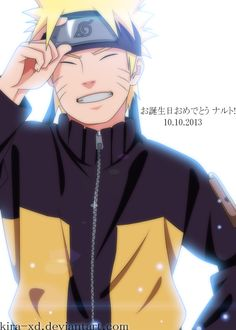 Happy Birthday Naruto by Kira-XD on deviantART