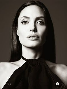 Angelina Jolie for Elle US by Hedi Slimane http://bit.ly/1iulZVB