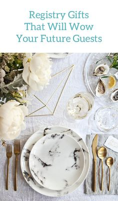 Want to wow all of your guests with gorgeous table décor? Zola makes completing your wedding registry easy for you.