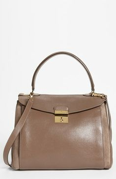 Because lady lawyers need something sleeker than a briefcase.  MARC JACOBS Grand Metropolitan Satchel