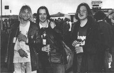 Kurt Cobain, Eugene Kelly and Norman Blake