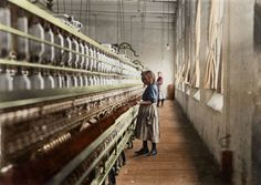Colorized Photos of Child Laborers Bring Struggles of the Past to Life