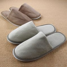 $8.27 (Buy here: http://appdeal.ru/9ca9 ) Women Indoor Slippers For Men Hotel Travel Bedroom Floor Winter Home Shoe Warm Plush Indoor Coral Fleece Soft  Pantufa Chinelos for just $8.27