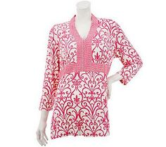 Another fabulous tunic from Liz Claiborne New York where style meets affordability and comfort!