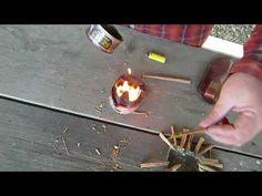 Cum facem chibrite  supravietuire bushcraft din sulf si fatwood