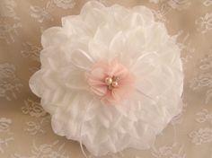 Ring Bearer Pillow  Gardenia  Wedding Pillow in by nanarosedesigns, $20.00