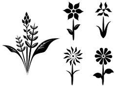 Resultado de imagen para jumping flowers vector