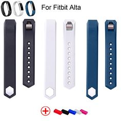 Bracelet Strap Replacement Band For Fitbit Alta Smart Fitness Watch New fashion Fitbit Alta Accessory Replacement Sports Wristbands Straps with Metal Clasps -- To view further for this item, visit the image link.