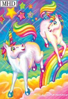 Brushstroke unicorns print wall art by lisa frank Unicorn Poster, Cartoon Unicorn, Unicorn Art, Unicorn Fantasy, Rainbow Unicorn, Cartoon Art, Lisa Frank Stickers, Images Instagram, Unicorn Pictures