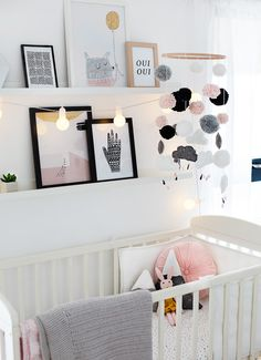 Obviously in doing up our nursery my head started . Obviously in doing up our nursery my head started rumbling with a million DIY projects I wanted to do. Sadly I had to reign in my long list and get realistic about how much time I had. One thing I … Baby Bedroom, Baby Room Decor, Nursery Room, Girl Room, Kids Bedroom, Baby Room Diy, Baby Room Ideas For Girls, Modern Nursery Decor, Nursery Crib