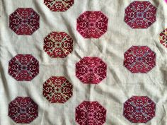 Vintage Sari Bagh Phulkari Border Antique Embroidered Trim Sewing Deco Lace Superior Quality In