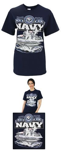 United States Navy T-Shirt at The Veterans Site