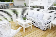 Pallet garden furniture – an eco-friendly and affordable solution with many variations
