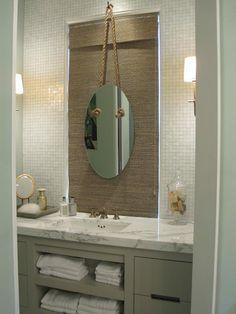 Beach house bathroom mirrors best beachy bathrooms tuscan bathroom design s Kids Beach Bathroom, Seaside Bathroom, Coastal Bathroom Decor, Tuscan Bathroom, Beach Bathrooms, Bathroom Mirrors, Bathroom Ideas, Bathroom Gray, Bathroom Remodeling