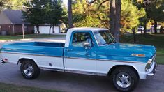 Wheels and color! Classic Trucks For Sale, Ford Trucks For Sale, Classic Ford Trucks, Old Ford Trucks, Old Pickup Trucks, Lifted Chevy Trucks, F100 Truck, 1969 Ford F100, 1979 Ford Truck