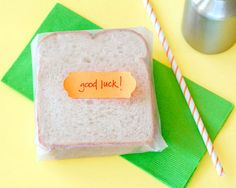 Send a note in your little one's lunch box! www.fiskars.com