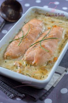 Salmon and shrimp rolls – Fadila cuisine – Claudine Evrard Fish Recipes, Seafood Recipes, Cooking Recipes, Healthy Recipes, Salmon And Shrimp, Fish And Seafood, Salmon Dishes, Food To Make, Main Dishes