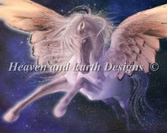 Pegasus [PRINDLE104] - $19.00 : Heaven And Earth Designs, cross stitch, cross stitch patterns, counted cross stitch, christmas stockings, counted cross stitch chart, counted cross stitch designs, cross stitching, patterns, cross stitch art, cross stitch books, how to cross stitch, cross stitch needlework, cross stitch websites, cross stitch crafts