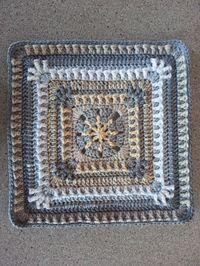 Raindrop Block Motif By Donna Kay Lacey - Free Crochet Pattern - (ravelry)