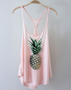 This loose-fitting peach tank is the perfect balance between sexy and cute.  Tank has deep round neck, loose racerback, and thin spaghetti straps.  Looks super cute paired with a bandeau bralette and tap shorts!    Measurements from a Size SMALL  (Add half inch for next size up)  Length: 29 inche...