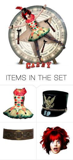 """7. Carnival Doll"" by angie73 ❤ liked on Polyvore featuring art"