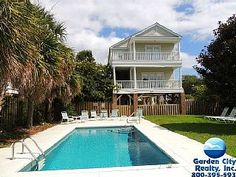Carolina Nestled private pool-short 5 minute walk to the beach in Garden CityVacation Rental in Garden City Beach from @homeaway! #vacation #rental #travel #homeaway