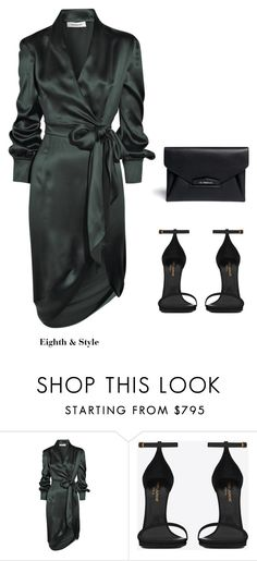 """Untitled #312"" by eighthandstyle ❤ liked on Polyvore featuring Yves Saint Laurent and Givenchy"