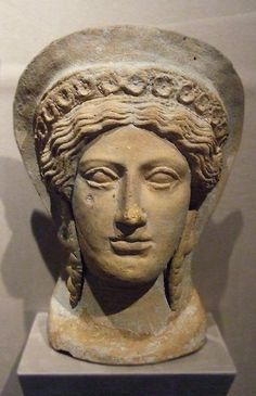 Etruscan Votive Head of a Woman in the Walters Art Museum,