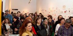"""El público asistente disfruta de la actuación de Vaudí en El arte de lo imposible Cruzando la línea """"dibujines y borratajos"""""""