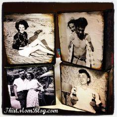 DIY Vintage Photo Canvas