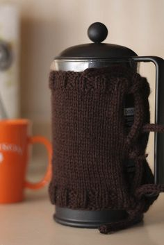 Cozying Up That French Press