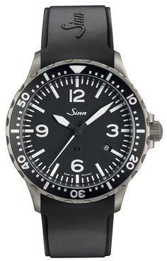 Sinn Watch 857 Rubber #bezel-unidirectional #bracelet-strap-rubber #brand-sinn…
