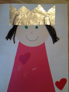 queen esther crafts | Preschool royalty abounds when each child makes this regal craft!