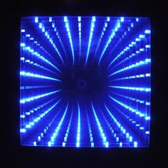 How to make an LED infinity mirror.