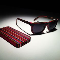 56797a9b526f DIAMOND SUPPLY CO. – Recycled Skateboard Wood Sunglasses & iPhone 5  Case Real Skateboards