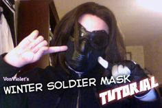 Winter Soldier costume tutorials  http://www.tumblr.com/search/winter+soldier+cosplay+wip