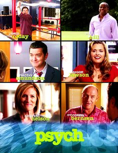 loving the whole gangit totally captures the show too. Everyone else is smiling and then Shawn has a sword Psych Cast, Psych Tv, Best Tv Shows, Best Shows Ever, Movies And Tv Shows, Funny Quotes, Funny Memes, Jokes, Mon Son