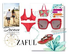 """""""Dream a little dream of me .... Zaful"""" by kelly-floramoon-legg ❤ liked on Polyvore featuring Dolce&Gabbana, Vera Bradley and Love Quotes Scarves"""