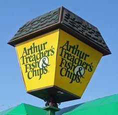 Krispy kreme charlotte nc childhood memories taste for Arthur treacher fish and chips near me