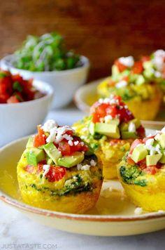 Healthy Breakfast Egg Muffins Recipe #healthy #diet