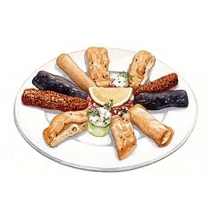 Food Art, A Food, Food And Drink, Food Cartoon, Food Stickers, Fruit Drinks, Food Drawing, Dessert Recipes, Desserts