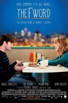 What If/The F Word Michael Bowse) A medical-school dropout (Daniel Radcliffe) tries to hide his attraction to his new friend (Zoe Kazan), a bubbly artist who already has a boyfriend. Daniel Radcliffe, Zoe Kazan, What If Movie, Love Movie, Adam Driver, Megan Park, Toronto, Word Online, Failed Relationship