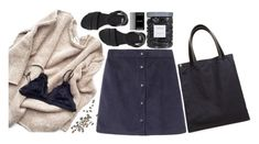 """""""River Rock"""" by lsaroskyl ❤ liked on Polyvore featuring Bless, ASOS, Prada, Threshold, women's clothing, women's fashion, women, female, woman and misses"""