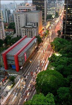 Avenida Paulista, São Paulo, Brasil.