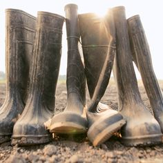Them are workin' boots! We are farmers. We are workers. We have a love of for the earth on our boots. #biodynamicfarming #bDynamic #organicfarming